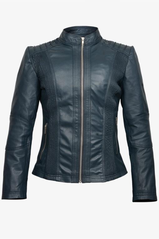 Slimfit Biker Leather Jacket