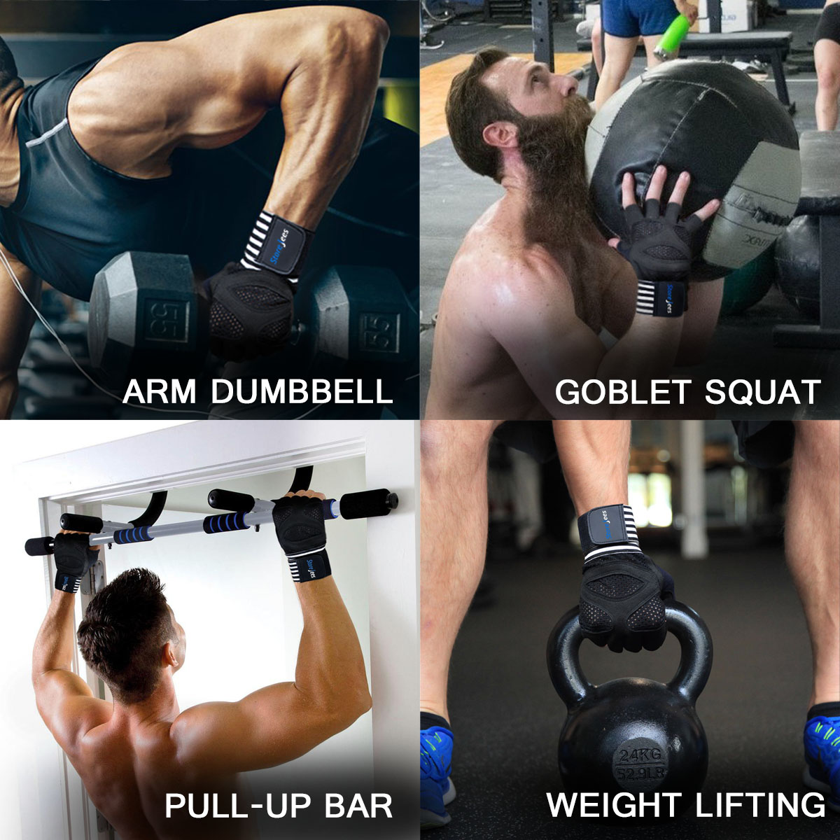 Weightlifting and Workout Gloves