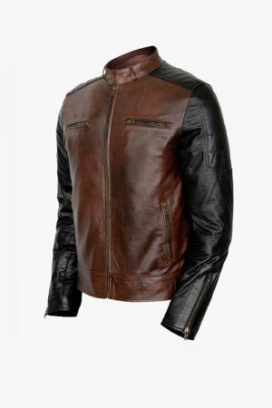 Retro Biker Leather Jacket