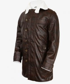 Fur Shearling Sheepskin Peacoat