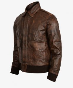 Aviator Flight Bomber Jacket