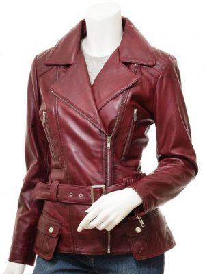 Gothic Vintage Leather Coat