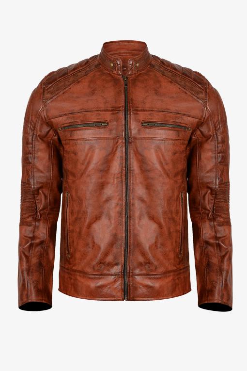 Retro Cafe Racer Jacket