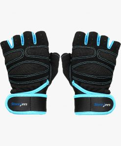 Weightlifting and Workout Gloves - Blue