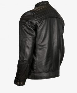 Black Racer Leather Jacket