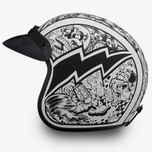 Graffiti Features Helmet