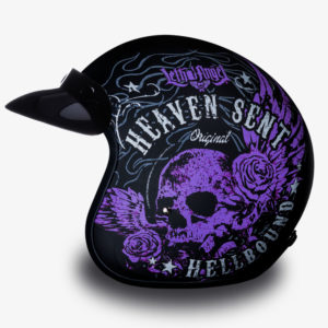 Shell Helmet with In the Heaven Sent Print
