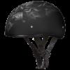Motorcycle Half Helmet Skull Cap Helmets - Pistons Skull - 100% DOT Approved