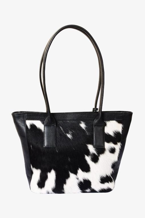 Tote Bag Holstein Black