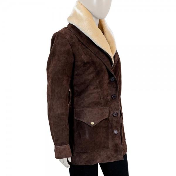 Kelly Reilly Shearling Coat