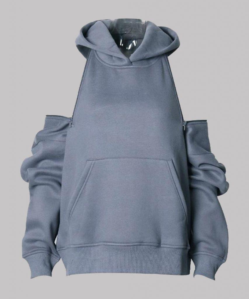 Feel The Beat Grey Hoodie