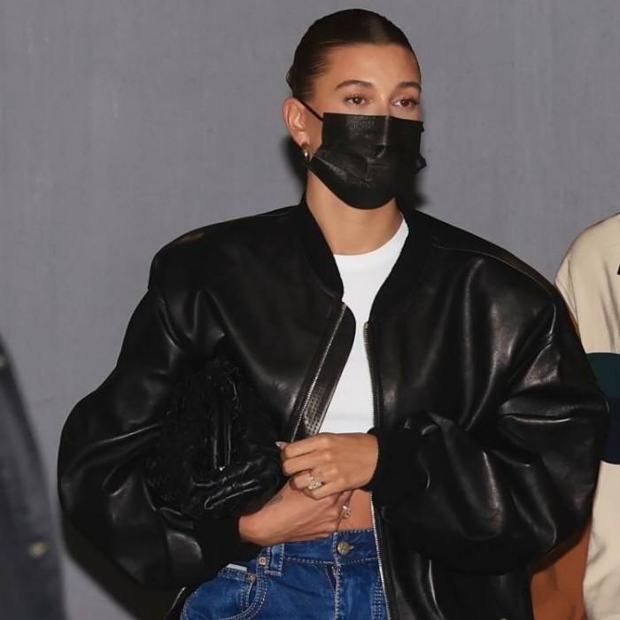 Hailey Bieber Sunset Comix Jacket