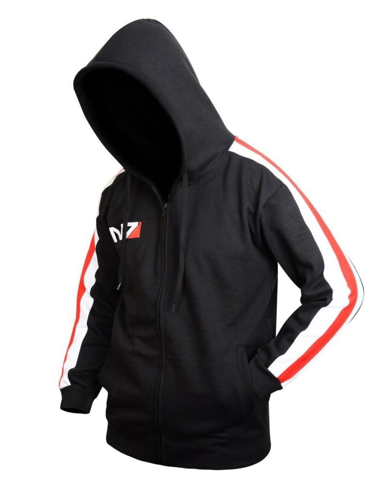 Mass Effect Black Hoodie