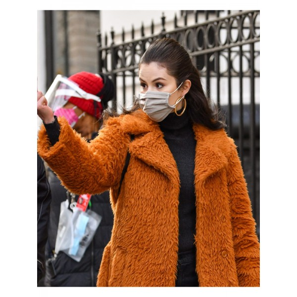 Selena Gomez Only Murders In The Building Coat